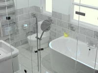 A bathroom we installed in Liverpool