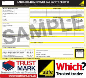 CP12 Gas Safe Certificate