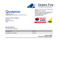 sample quotation for plumbing work