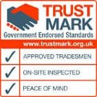 TrustMark Logo - We are TrustMark certified.