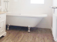 Full bathroom design, supply and installation in Woolton - beautiful finish.