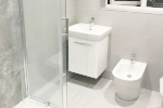Full new bathroom fitted by our expert bathroom fitters within the City Centre
