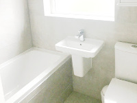 Beechtree Road, Formby - Full bathroom installation. We supplied and installed this bathroom.