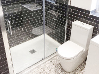 Bathroom fitted just off Allerton Road.