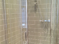 Bathroom installation after another company poorly installed - we had to make good!