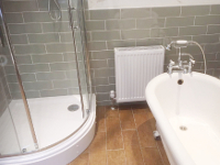 Sandringham Road - new bathroom.