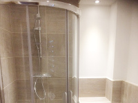 Southferry Quay - new ensuite bathroom completed.