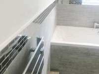 New bathroom installation by our bathroom fitters in Highfield Road, Liverpool.