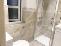Three bathrooms completed in Aigburth, Liverpool