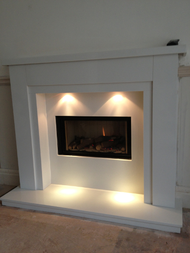 Gas Fire Amp Fireplace Installation Photographs In Liverpool