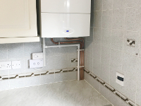 New Worcester boiler fitted in new home in Sudley Grange, Aigburth