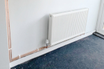 Nice new pipework for two new radiators in a customers property.